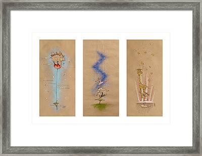 Nursery Collection 6 Framed Print by David Breeding