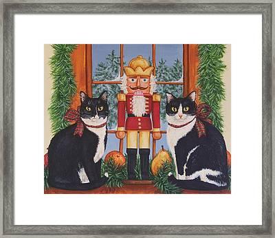 Nutcracker Sweeties Framed Print by Beth Clark-McDonal