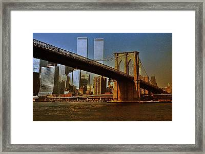 Nyc 1976 Framed Print by Benjamin Yeager
