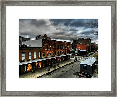 Nyc - High Line - Meatpacking District 004 Framed Print by Lance Vaughn