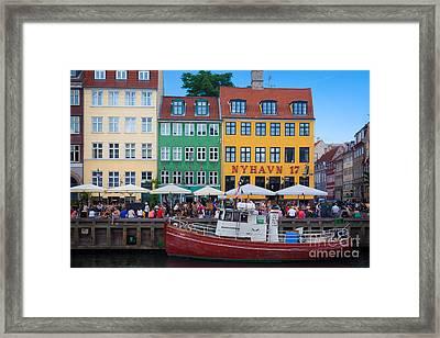 Nyhavn 17 Framed Print by Inge Johnsson