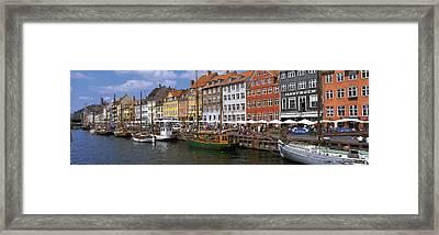 Nyhavn Copenhagen Denmark Framed Print by Panoramic Images