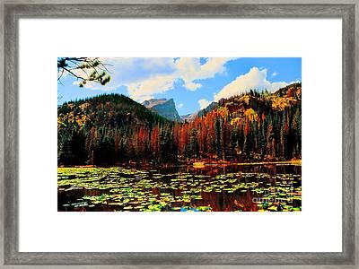 Nymph Lake Framed Print by Kathleen Struckle