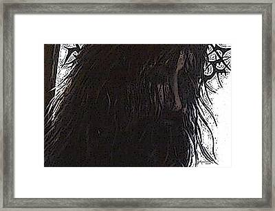 O Broken Lamb Framed Print by Kume Bryant
