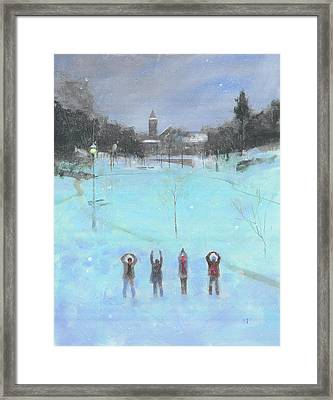 O-h-i-o Framed Print by Stan Fellows