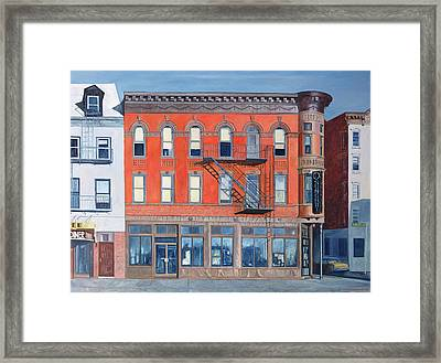 O Sunghai Restaurant West Village Framed Print by Anthony Butera