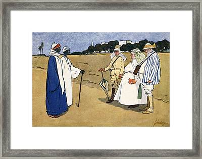 O Wad Some Power The Giftie Gie Framed Print by Lance Thackeray