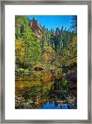 Oak Creek Beauty Framed Print by Brian Lambert