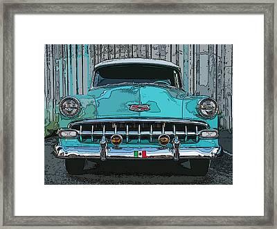 Oakland Street Cruiser Framed Print by Samuel Sheats