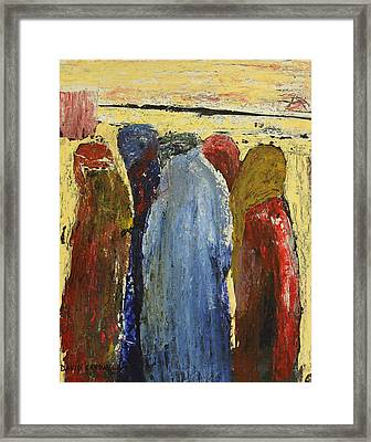 Obedient Framed Print by David Cardwell