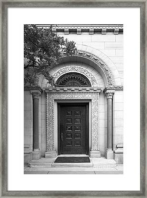 Oberlin College Cox Administration Building Framed Print by University Icons