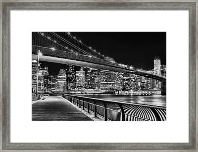 Obligatory Bw Framed Print by JC Findley