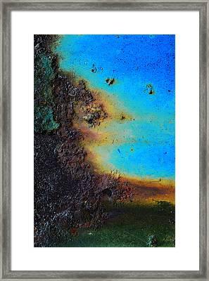 Obscure Framed Print by Tom Druin