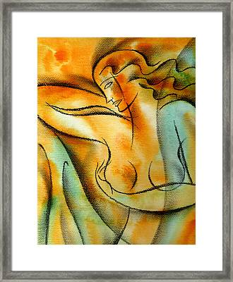 Observation Framed Print by Leon Zernitsky