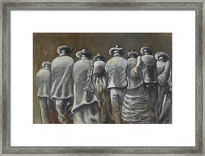 Observers Framed Print by Havazelet Hasharon