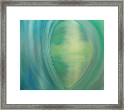 Observer Framed Print by Sandy Mileski