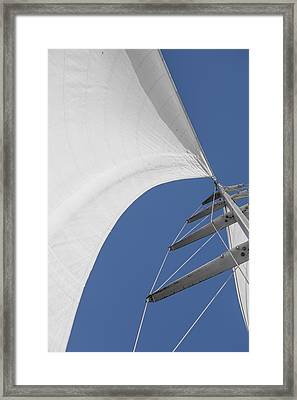 Obsession Sails 10 Framed Print by Scott Campbell
