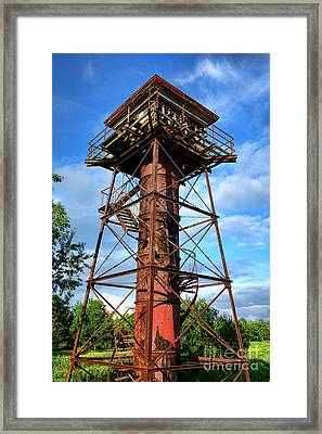 Obsolete Framed Print by Olivier Le Queinec