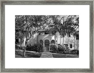 Occidental College Erdman Hall Framed Print by University Icons