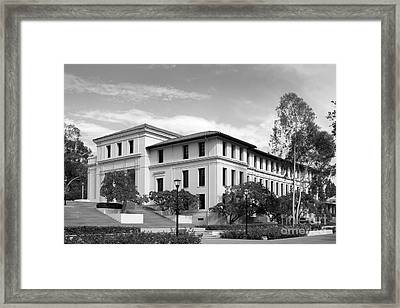 Occidental College Fowler Hall Framed Print by University Icons