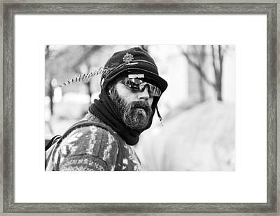Occupy Philadelphia Framed Print by Louis Dallara