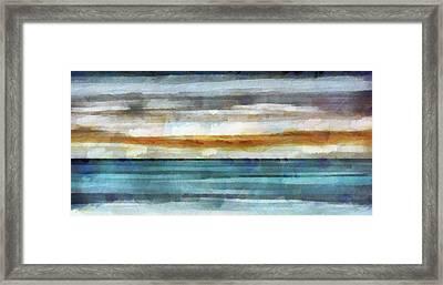 Ocean 1 Framed Print by Angelina Vick