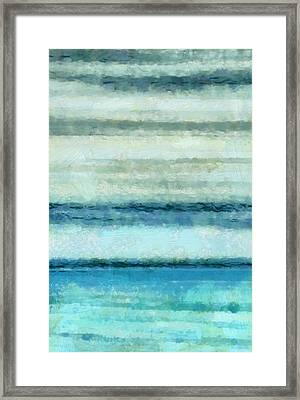 Ocean 4 Framed Print by Angelina Vick
