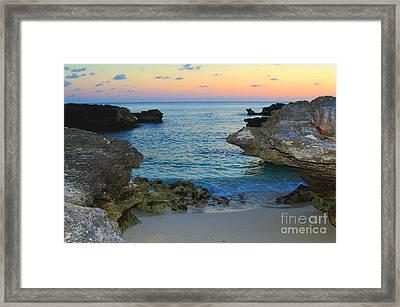 Ocean Allure Framed Print by Carey Chen