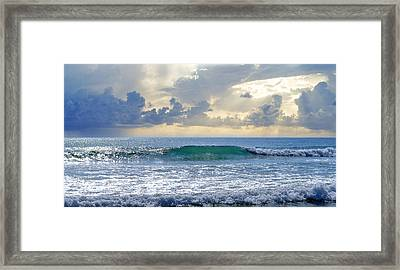 Ocean Blue Framed Print by Laura Fasulo