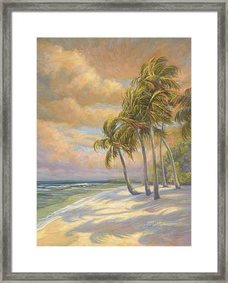 Ocean Breeze Framed Print by Lucie Bilodeau