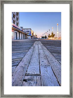 Ocean City Framed Print by JC Findley