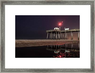 Ocean City Framed Print by Kristopher Schoenleber