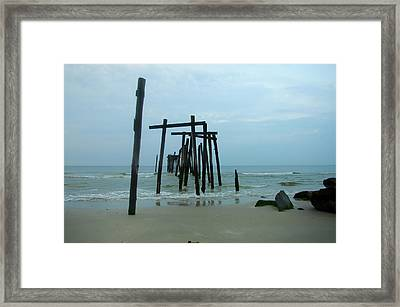 Ocean City New Jersey Framed Print by Bill Cannon