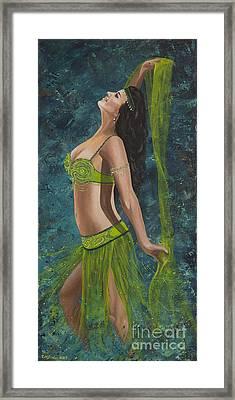 Ocean Dancer Framed Print by Carol Bostan
