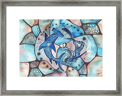 Ocean Defender Framed Print by Tamara Phillips
