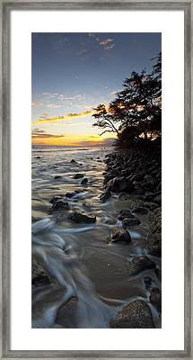 Ocean Flow Framed Print by James Roemmling