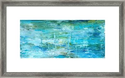 Ocean I Framed Print by Tia Marie McDermid