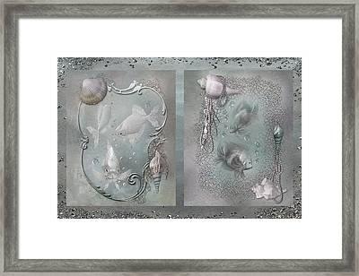 Ocean Moods Framed Print by Carol Cavalaris