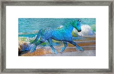 Ocean Of One I Of II Framed Print by Betsy Knapp