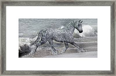 Ocean Of One II Of II Framed Print by Betsy Knapp