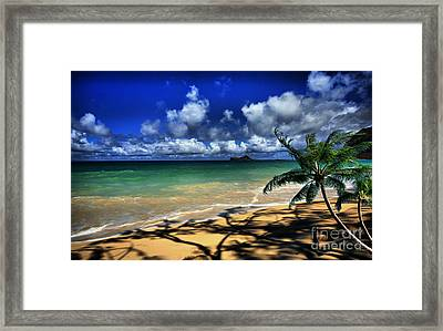 Ocean Serenity Framed Print by Cheryl Young