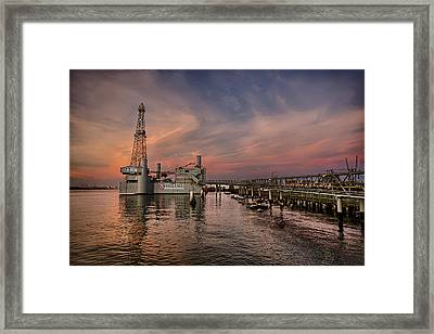 Ocean Star Framed Print by Thomas Zimmerman