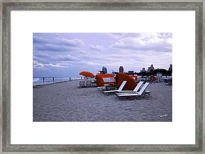 Ocean View 6 - Miami Beach - Florida Framed Print by Madeline Ellis