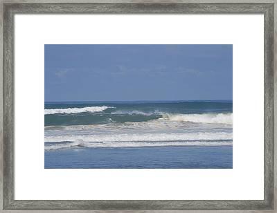 Ocean Wave 1 Framed Print by Phoenix De Vries