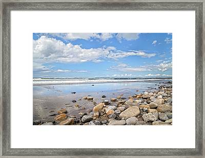 Oceanfront -- Sligo -- Ireland Framed Print by Betsy C Knapp