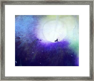 Spirit Healing Lesson 1 Of 2 Framed Print by Judy A McNutt