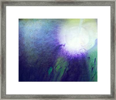 Spirit Healing Lesson 2 Of 2 Framed Print by Judy A McNutt