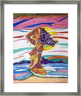 Ochun  Framed Print by Stormm Bradshaw