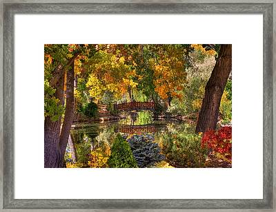 Ode To Autumn Framed Print by Donna Kennedy