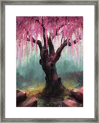 Ode To Spring Framed Print by Steve Goad